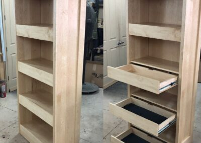 Gun Concealment Bookcase