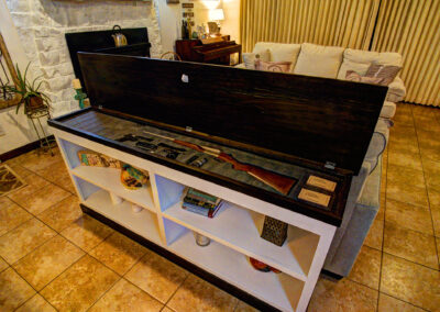 Concealment Sofa Table