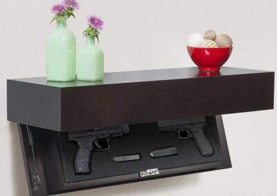 Concealment Shelves