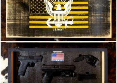 Gun Concealment Wall Art