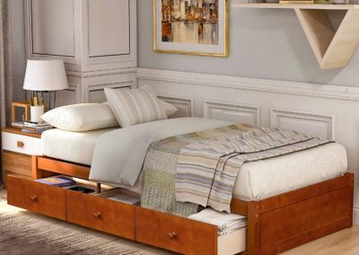 Bed With Hidden Compartment