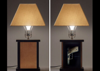 Gun Concealment Lamp